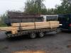 Přeprava dřeva na stavbu :-)