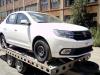 Přeprava nového vozidla Dacia Logan.